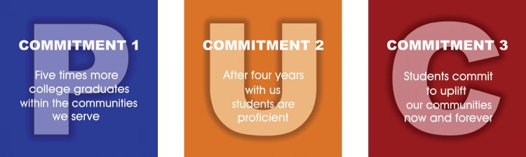 PUC's 3 Commitments