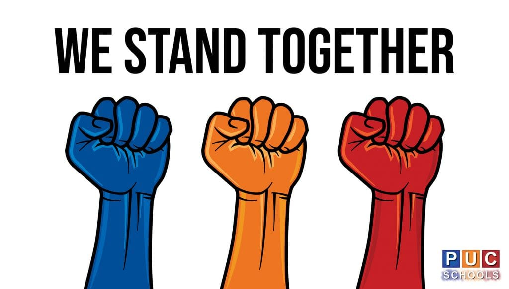PUC Schools - We Stand Together